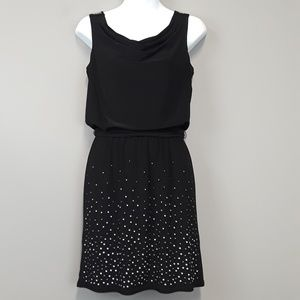 White House Black Market Black Sleeveless Dress